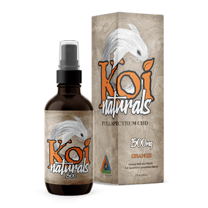 Koi CBD - Spray Naturals Hemp Extract Orange Flavor 60ml