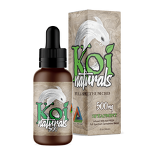 Load image into Gallery viewer, Koi CBD - Tincture Naturals Hemp Extract Spearmint Flavor 30ml