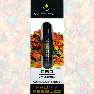 Vesl CBD - Cartridge Fruity Pebbles 250mg