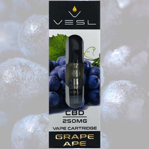 Vesl CBD - Cartridge Grape Ape 250mg