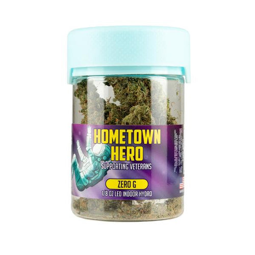 Hometown Hero - CBD Flower Zero G 3.5gms