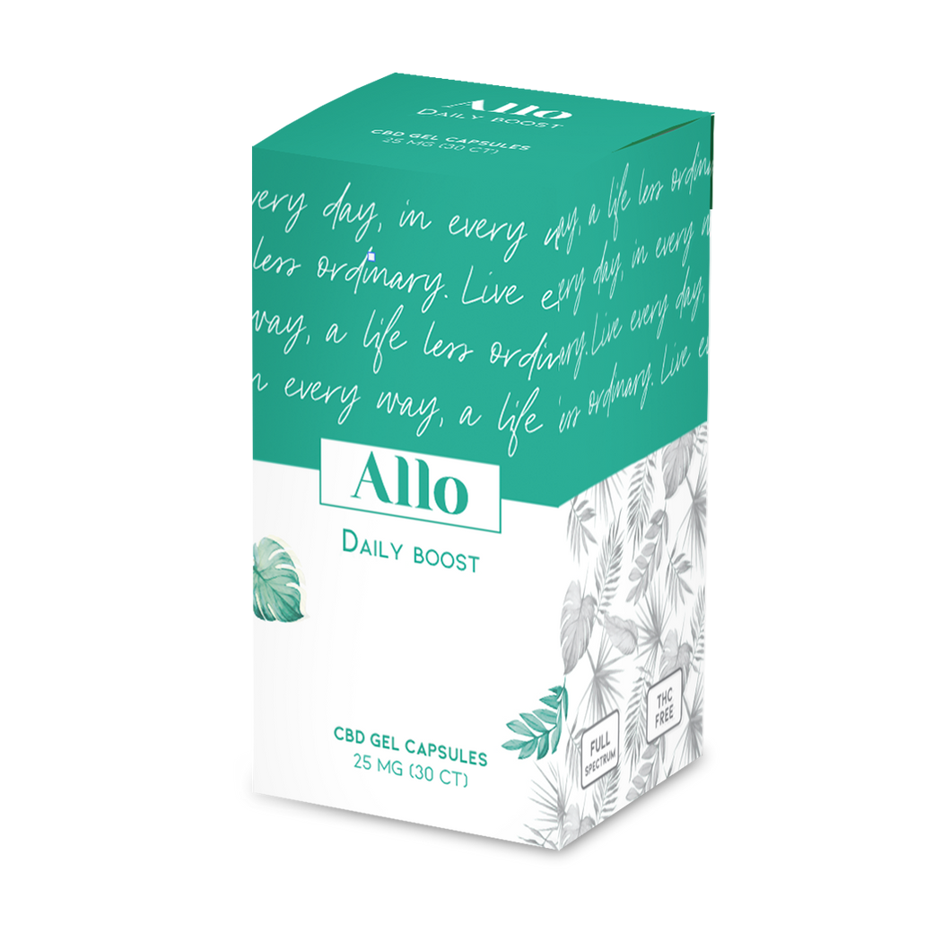 Allo - CBD Capsule Daily Boost Gel 30ct