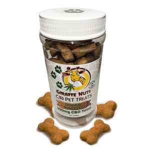 Giraffe Nuts - CBD Pet Milk Bone Biscuits 100mg