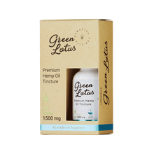 Load image into Gallery viewer, Green Lotus - CBD Tincture Hemp Oil Lemon 1500mg