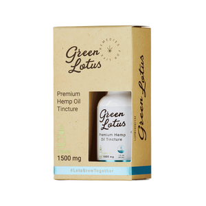 Green Lotus - CBD Tincture Hemp Oil Lemon 1500mg