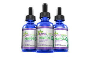 Gone Green - CBD Oil Full Spectrum Hemp Extract 30ml 5000mg