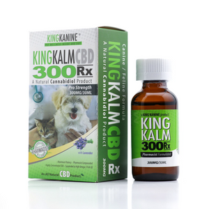 Green Roads - CBD Pets Oil King Kalm Kanine Tincture Canine Feline Formula 30ml 300mg Lavender