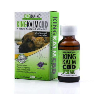 Green Roads - CBD Pets Oil King Kalm Kanine Tincture Canine Feline Formula 30ml 75mg Lavender