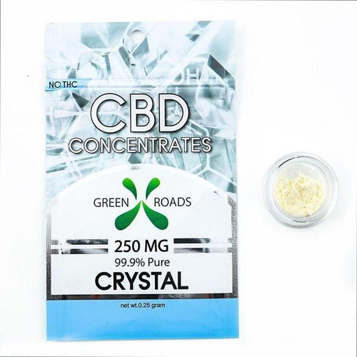 Green Roads - CBD Concentrate Pure Isolate Crystal 250mg