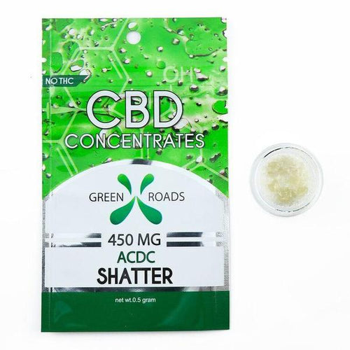 Green Roads - CBD Concentrate Shatter ACDC 450mg