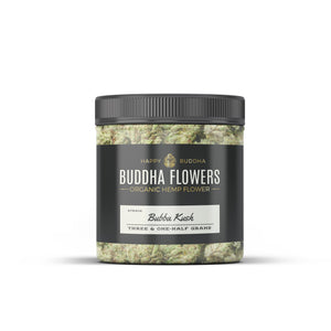 Happy Buddha CBD - Hemp Flowers Black Label Bubba Kush 3.5 grams