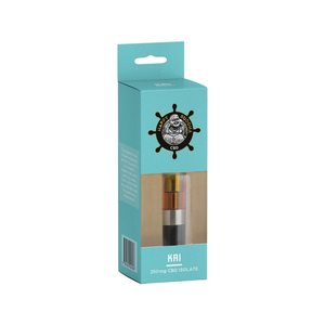 Happy Buddha CBD - Cartridge KAI Isolate Blue Razz 250mg