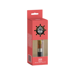 Happy Buddha CBD - Cartridge ZEN Isolate Strawberry 250mg