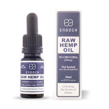 Load image into Gallery viewer, Endoca CBD - Oil Raw Hemp Drops 10ml 300mg