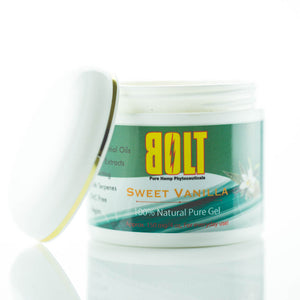 BOLT CBD - Cream & Ointment Pure Gel Sweet Vanilla