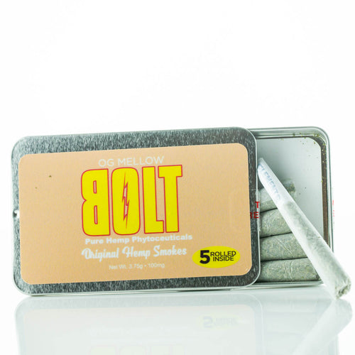 BOLT CBD - Pre Rolls Hemp Smokes OG Mellow 5 Pcs