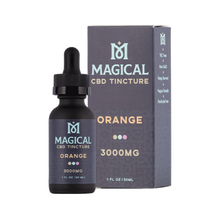 Load image into Gallery viewer, Magical CBD - Tincture Orange 3000mg