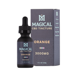 Magical CBD - Tincture Orange 3000mg