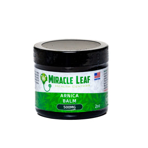 Miracle Leaf CBD - CBD Topical Arnica Balm 500mg For Sale