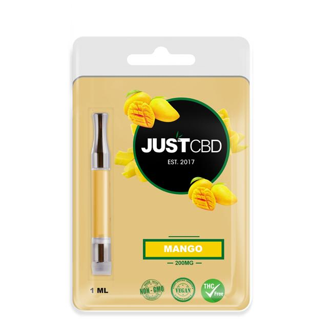 JUST CBD - Cartridge Oil Mango 200mg 1ml