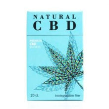 Load image into Gallery viewer, Natural CBD - Cigarettes Premium Smokes 20ct