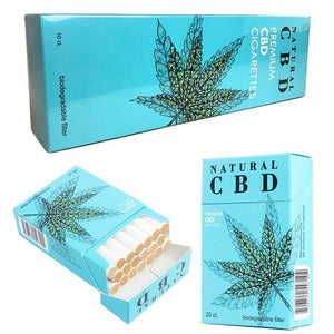 Natural CBD - Cigarettes Premium Smokes 20ct