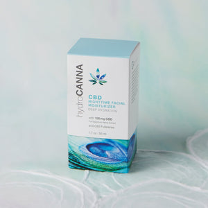 Hydro Canna - CBD Skin Care Nighttime Facial Moisturizer 100mg