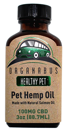 Organabus CBD - Pet Hemp Oil 100mg