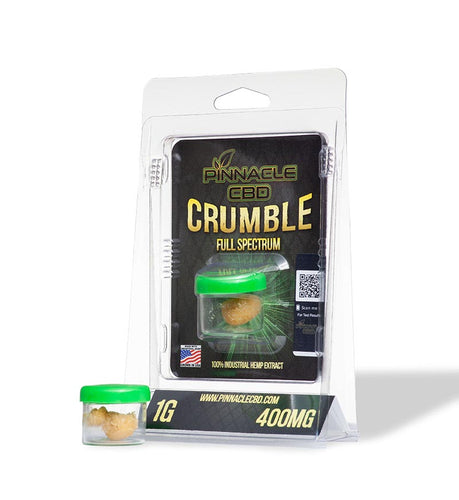 Pinnacle Hemp - CBD Concentrate Crumble 400mg For Sale