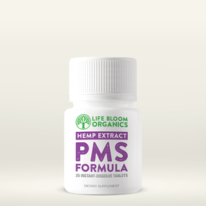 Life Bloom Organics - Hemp Tablets PMS Quick-Dissolve 25 Servings
