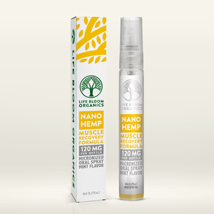 Life Bloom Organics - Hemp Spray Nano Muscle Recovery