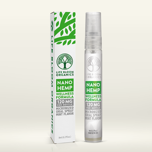 Life Bloom Organics - Hemp Spray Nano Wellness Mint Flavor 120 mg