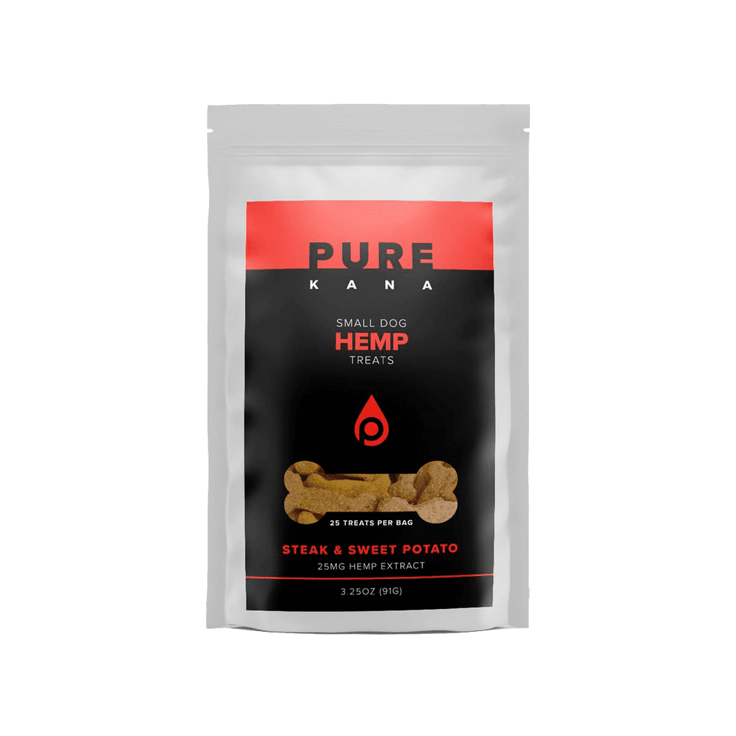 Pure Kana - Hemp Pet Dog Treats Steak & Sweet Potato (Small Dog)