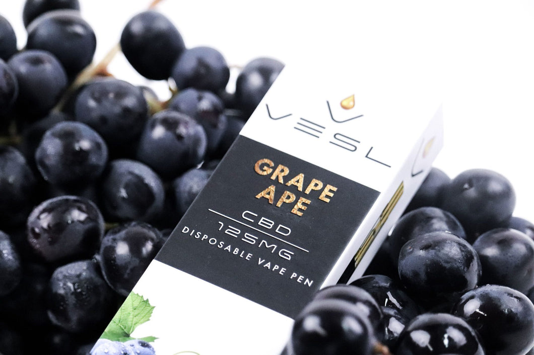 Vesl CBD - Pen Grape Ape 125mg