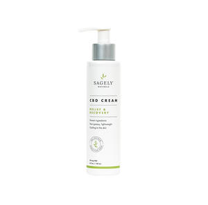 Sagely Naturals - CBD Cream Topical 118ml