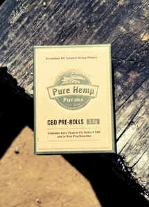 Pure Hemp Pre Rolls Smokes - Pineberry