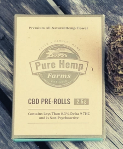 Pure Hemp Pre Rolls Smokes - Sour Space Candy