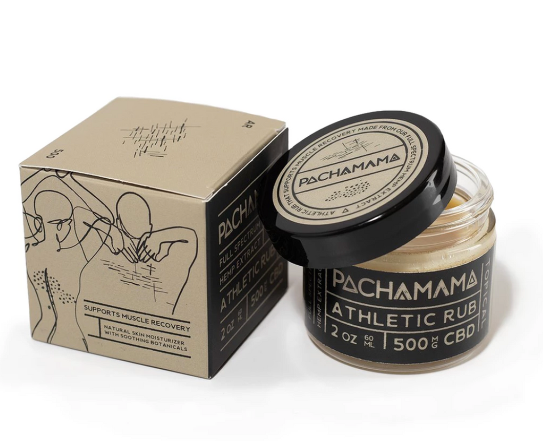 Pachamama - Athletic Rub - 500 mg