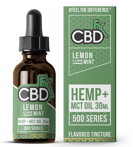 CBD Fx - Tincture Oil Lemon Lime Mint