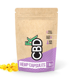 CBD Fx - CBD Pills 8ct Pouch 200mg