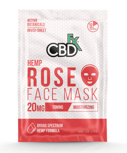 CBD Fx - CBD Face Mask – Rose