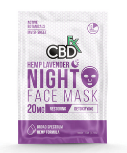 CBD Fx - CBD Lavender Night Time Face Mask