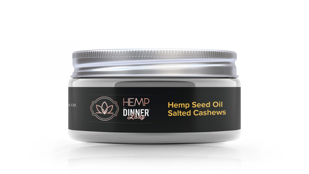 Dinner Lady - Edible Hemp Seed Oil Cashews 3oz
