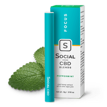 Load image into Gallery viewer, Social CBD - Pen Peppermint 250mg/125mg