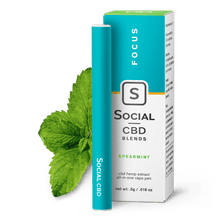 Load image into Gallery viewer, Social CBD - Pen Spearmint 250mg