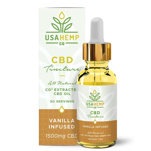 USA Hemp Co. - CBD Oil Vanilla 1500mg
