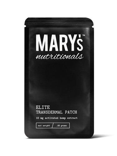 Mary's Nutritional- CBD Patch Transdermal 10mg Activated Hemp