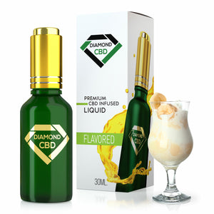 Diamond CBD - Oil Banana Cream Tincture 30ml.