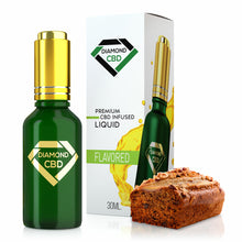 Load image into Gallery viewer, Diamond CBD - Oil Banana Nut Bread Tincture 30ml.