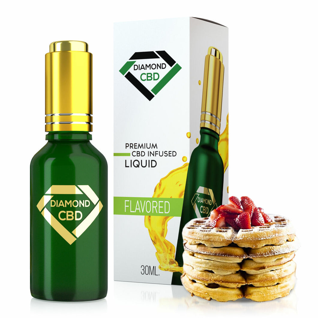 Diamond CBD - Oil Belgian Waffle Tincture 30ml.